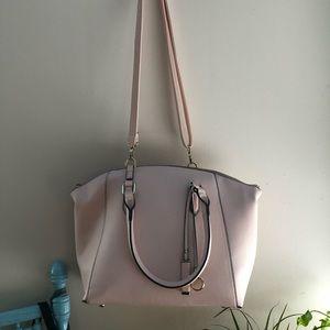 Blush large purse